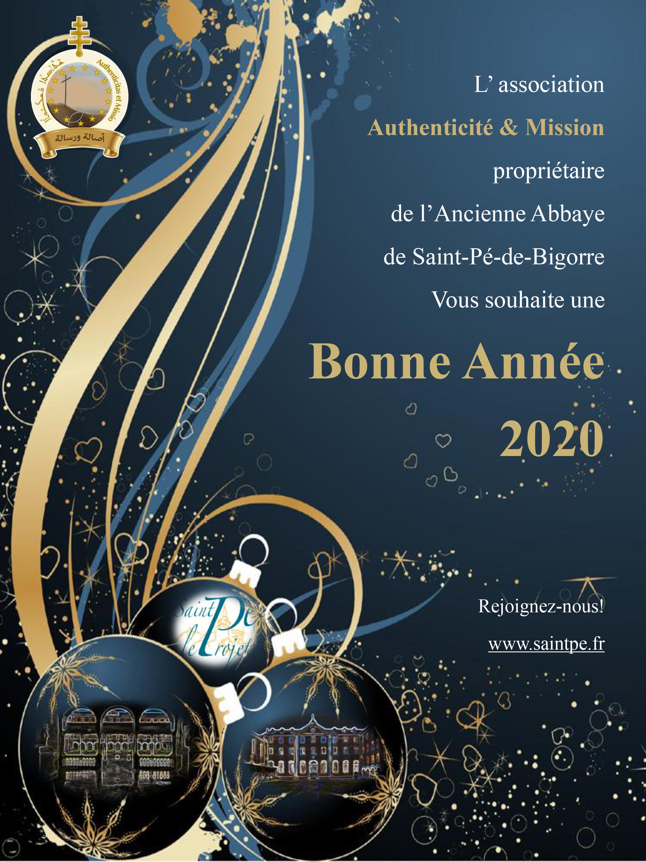 Meilleurs Vœux pour 2020!
